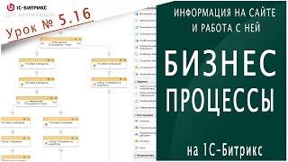 Бизнес-процессы в 1С битрикс Урок 5.16 - Информация на сайте