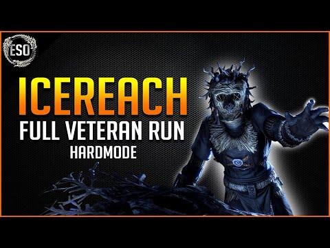 Icereach Full Veteran Run with Hardmode - Harrowstorm Elder Scrolls Online ESO