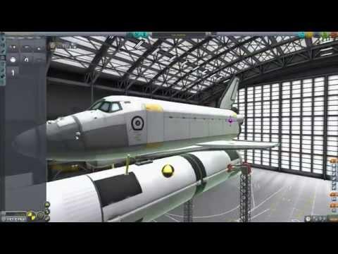 KSP: Operation Vanilla Ep. 38: Der Shuttle Stack - die echte Herausforderung!