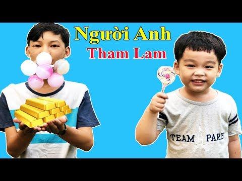 Người Anh Tham Lam - Bài Học Cho Bé - Anh Em Phải Biết Nhường Nhau l KEN CHANNEL