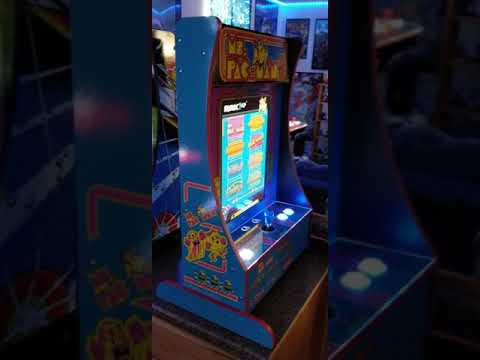 New Ms. Pac-man Arcade1up Partycade QVC from 1HealthPlays Onstot