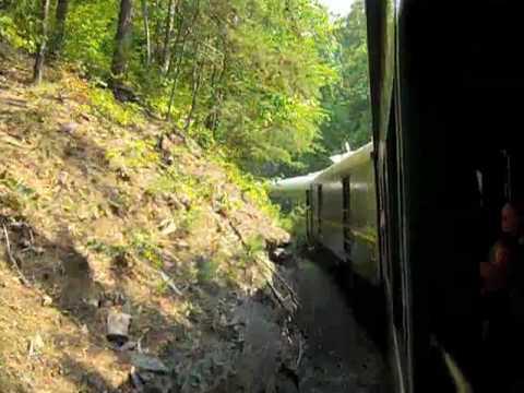 Blue Ridge Scenic Railway Train Turns