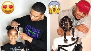 Black Man Does Daughter's Hair Better than Some Moms! #BlackFathersRepresent