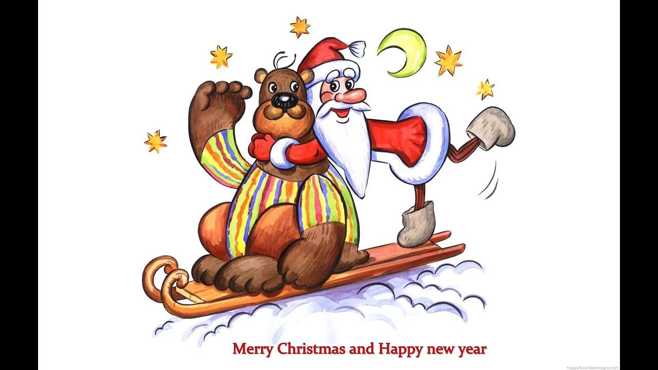 christmas new year drawings