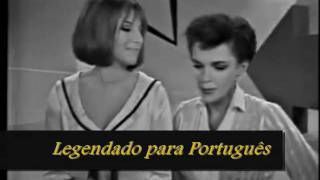 happy days are here again get happy judy garland e barbra streisand legendado em portugus