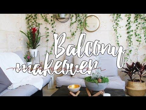 Urban Balcony Makeover - small space | DanDIY