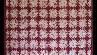 Сборка одеяла из быстрых квадратов печворк(Из 63 сшитых ранее быстрых квадратов собираем одеяло. Ткани для печворка можно купить здесь http://ali.pub/vs2t3., 2016-07-05T09:41:49.000Z)
