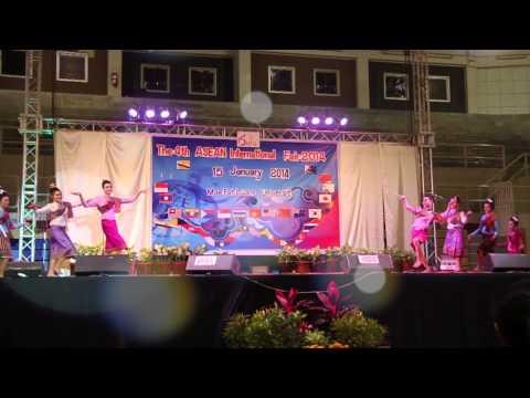 LAOS ASEAN International Fair 2014 at MFU