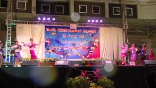 LAOS ASEAN International Fair 2014 at MFU