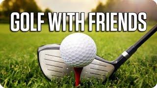 nos ponemos serios   golf with friends con luh y macundra