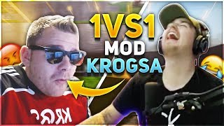 1V1 VS KROGSA I FORTNITE & CS:GO