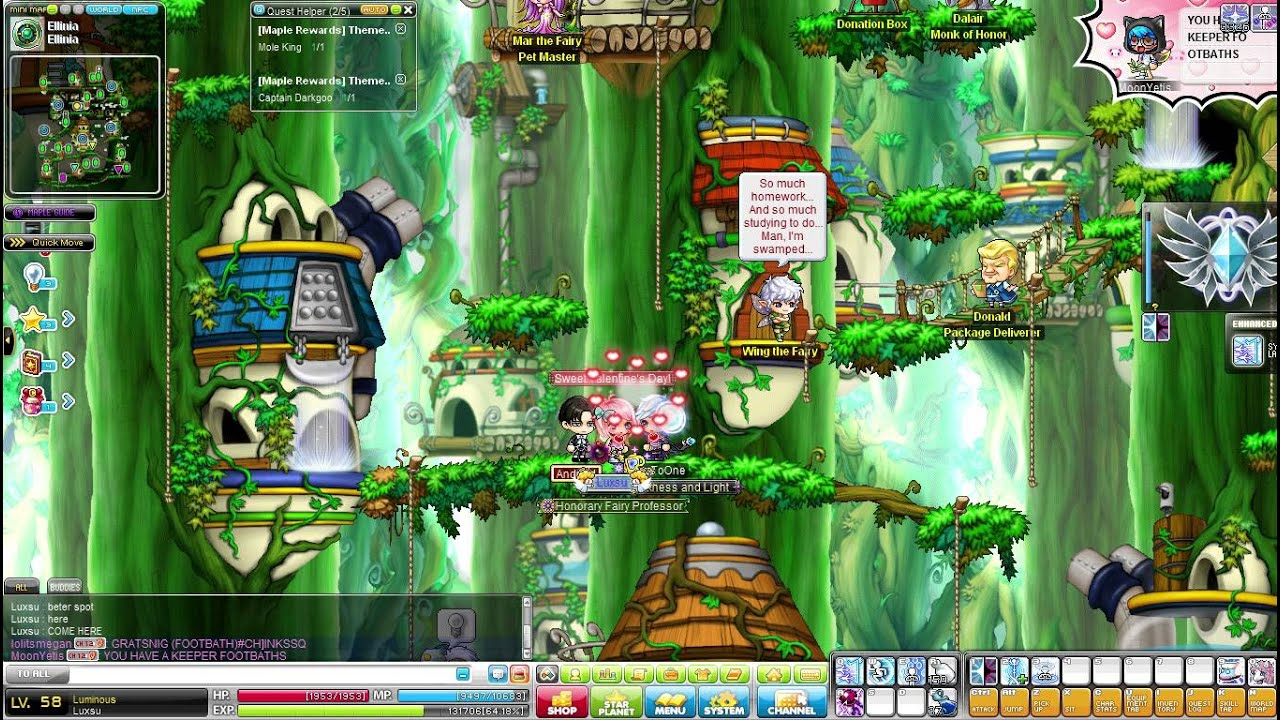 Maplestory Couple Ring Effect YouTube
