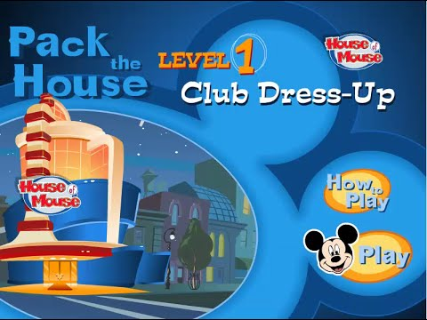 Disneys House of Mouse  Pack The House Level 1  Mickey