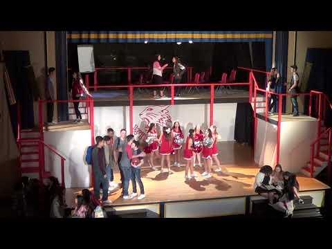 LHS High School Musical 2/17/18 Pt 1 Wildcat Cheer