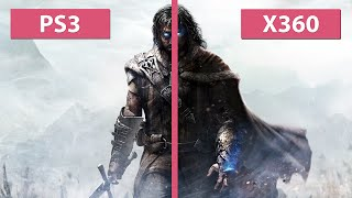 Middle-earth: Shadow of Mordor – PS3 vs. Xbox 360 Last-Gen Graphics Comparison [FullHD]