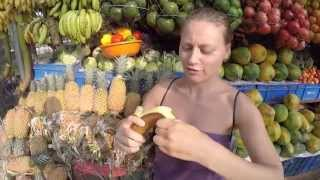 Варкала, фрукты Индии, новый год в Варкале | Индия 16(Самый туристический курорт на юге Индии, или где бы провести новый год как не в Варкале :) В этом видео мы..., 2015-01-21T15:14:53.000Z)