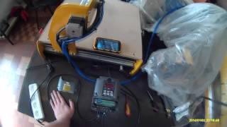 Видео урок. Как правильно подключить инвертор к шпинделю и блоку управления станком