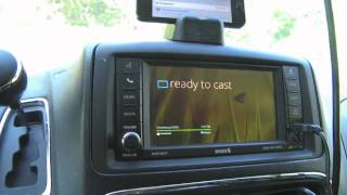 Repeat youtube video Google Chromecast in the Car Android %26 iOS Demo