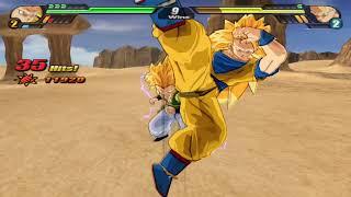 [TAS] Dragon Ball Z: Budokai Tenkaichi 3 Survival Mode (All-Star): Gotenks 50 KOs