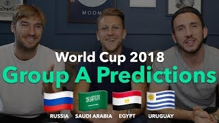 WORLD CUP PREVIEW - Group A - Uruguay / Russia / Egypt / Saudi Arabia