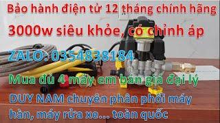 Máy rửa xe mini gia đình Nakata N8 1150k 0354838184 có chỉnh áp