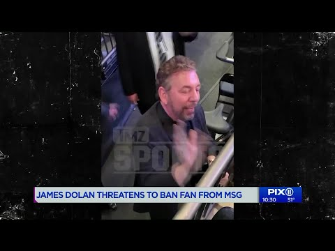 James Dolan threatens to ban heckling Knicks fan from Madison Square Garden Mp3