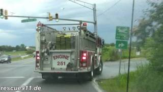 [Ride along] Battalion 807 + Engine 825 CVFD/PGFD
