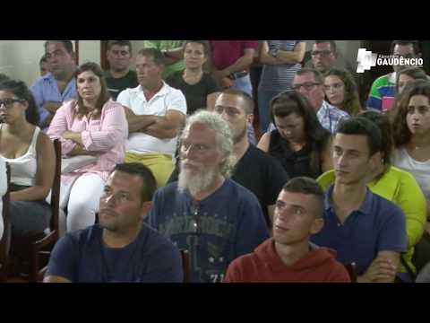 Apresentação de Dário Bernardo à junta de freguesia da Lomba de São Pedro
