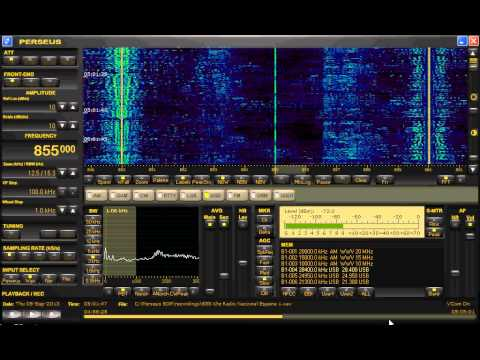 Transatlantic DX 855 Khz Radio Nacional Espana 1
