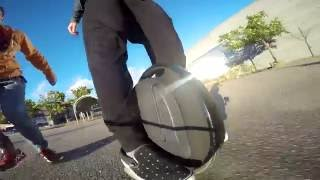 Electric Unicycle Ride (Gotway MCM4)