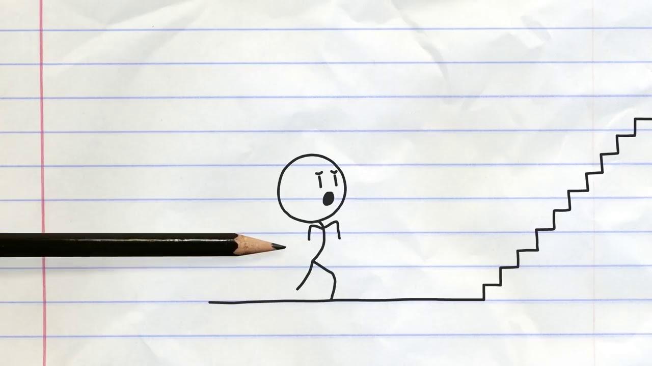 Phim hoạt hình vui nhộn😊 –  bút chì bá đạo 😄😄