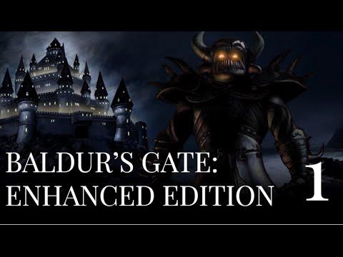 Let's Play Baldur's Gate: Enhanced Edition Coop #1 - Heroes of Ill Repute