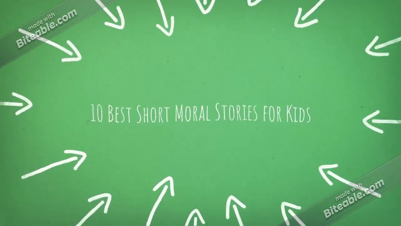 The 10 Best Short Moral Stories for Kids | Very Short
