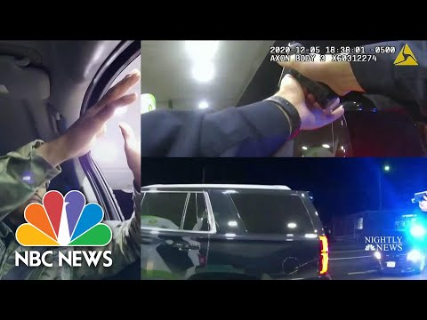 Shocking Footage Shows Army Lt. Pepper-Sprayed During Traffic Stop   NBC Nightly News