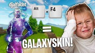GALAXYSKIN für ALT + F4 Troll mit ALPHASTEIN an RANDOMS!