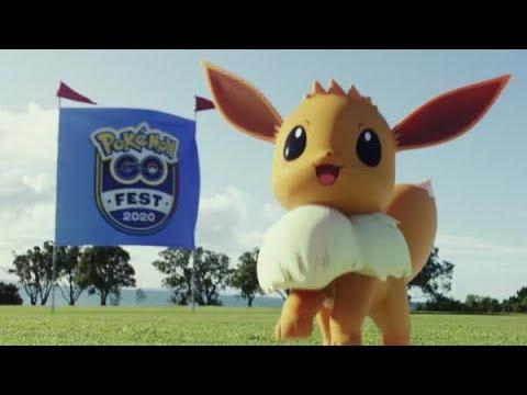 Schaut genau hin und entdeckt, was das Pokémon GO Fest 2020 alles zu bieten hat! from YouTube · Duration:  31 seconds