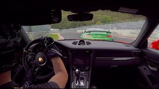 """""""Beast of the Green Hell"""" AMG GT R & Manthey-Racing Porsche GT3RS//."""