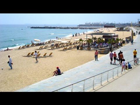 Barcelona Spain Beaches And Gothic Quarter