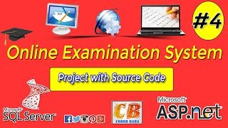 Online Examination System project in ASP.NET with C# Part 4