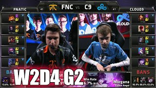 Fnatic vs Cloud 9 | Week 2 Day 4 Group B LoL S5 World Championship 2015 | FNC vs C9 G2 Worlds