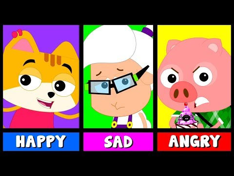 Emotions Song | Nursery Rhymes | Baby Songs For Children By Bud Bud Buddies