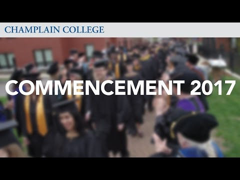 Undergraduate Online and Graduate Commencement 2017 FULL | Champlain College