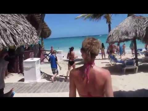 Grand Bahia Principe Punta Cana 2015 - Beach walk