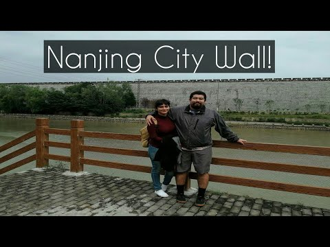Nanjing City Wall:Vacation Day 1!