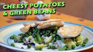 Нежный картофель с курицей и овощами |FE| Cheesy potatoes with chicken and vegetables