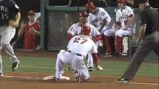 Mike Trout History and the sixth in Angels history to hit for the cycle 21/05/2013