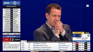 Pundits in shock as James McCarthy suffers broken leg for Everton
