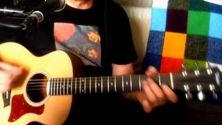 Think For Yourself ~ The Beatles - George Harrison ~ Acoustic Cover w/ Taylor GS Mini ~ Redo