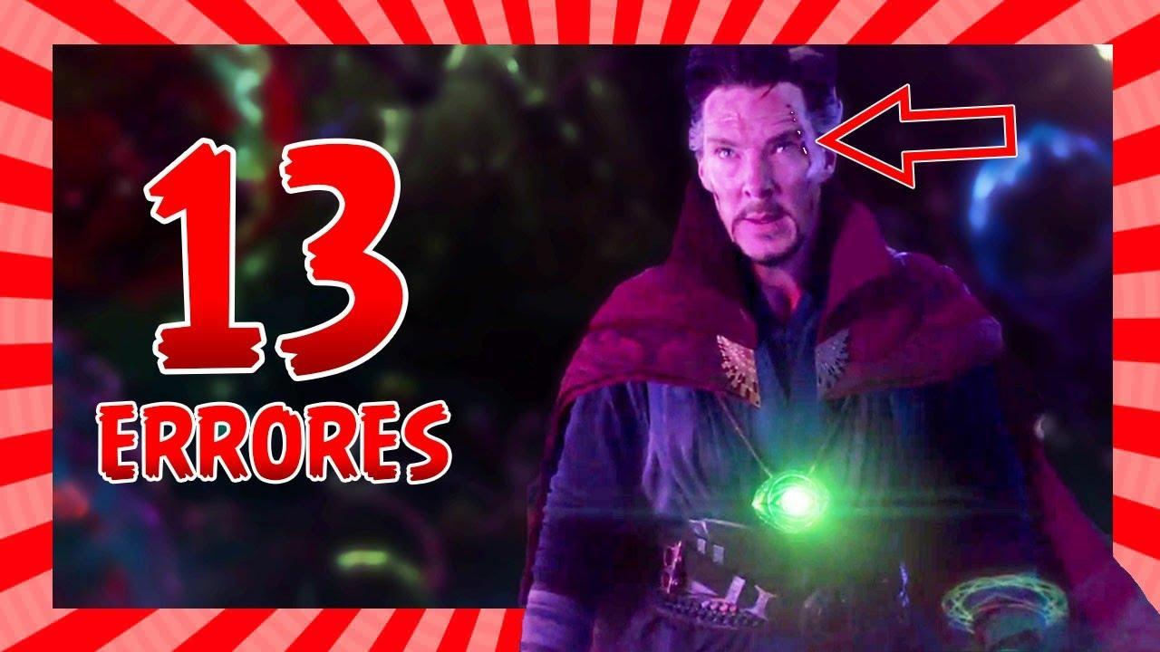 13 Errores en Doctor Strange que quizás no notaste (Movie Mistakes)