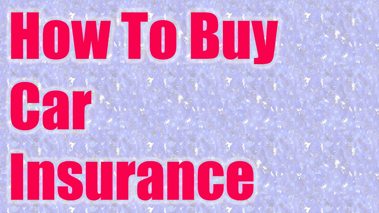 an introduction to how to buy car insurance Check out our comprehensive guide to buying car insurance - tons of valuable information to help you make the right choice.